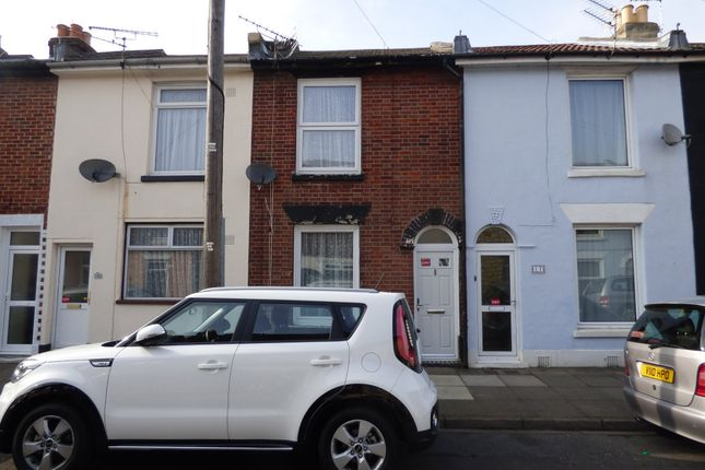 Thumbnail Terraced house to rent in Toronto Road, Portsmouth