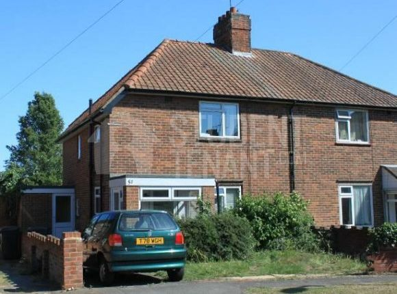 Thumbnail Semi-detached house to rent in Mandeville Road, Canterbury, Kent