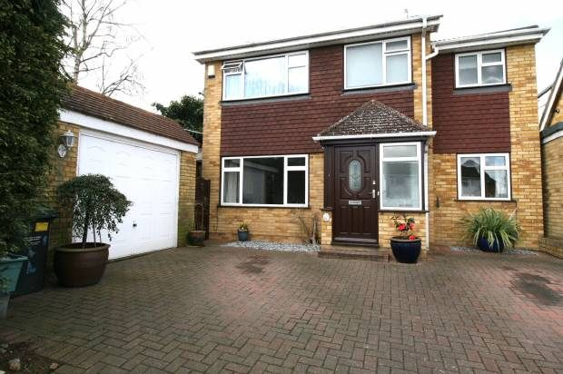Thumbnail Detached house for sale in Pout Road, Snodland