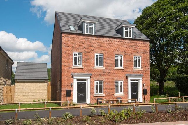 "Thumbnail End terrace house for sale in ""Greenwood"" at Heathfield Lane, Birkenshaw, Bradford"