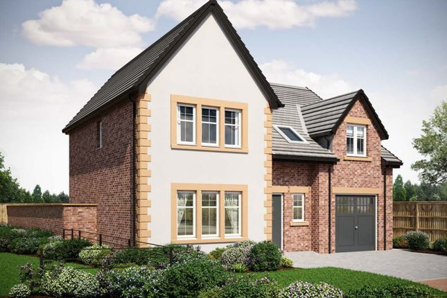 Thumbnail Detached house for sale in Plot 9, The Johnstone, Brockley Bank, Plumpton, Penrith