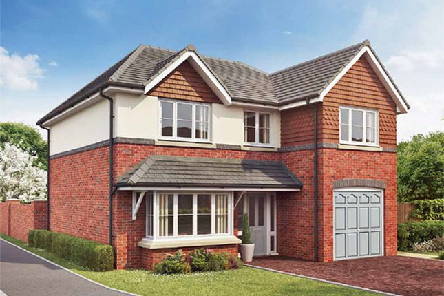 Thumbnail Detached house for sale in Kingsfield Park, Tytherington, Cheshire
