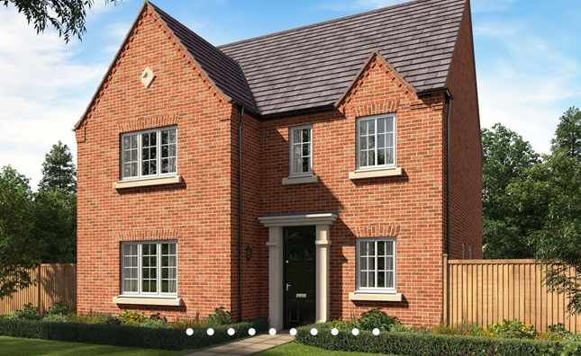 Thumbnail Detached house for sale in The Willington, Hoyles Lane, Cottam, Preston, Lancashire
