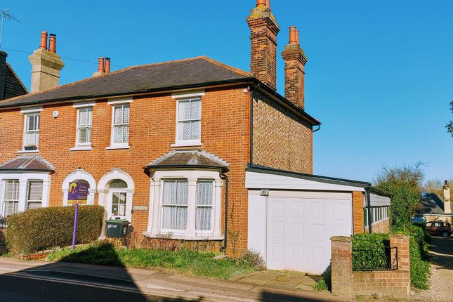 Thumbnail Semi-detached house for sale in Harlow Road, Roydon, Harlow