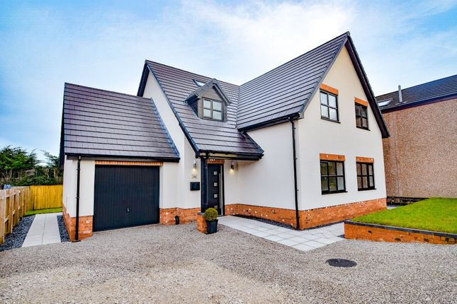 Thumbnail Detached house for sale in Red Road, Buckley