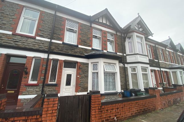 Thumbnail Terraced house for sale in Llanwern Street, Newport