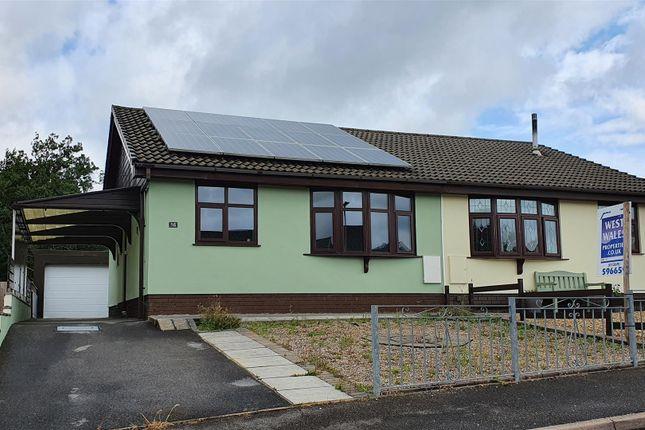 Semi-detached bungalow for sale in Ffordd Dafydd, Penygroes, Llanelli