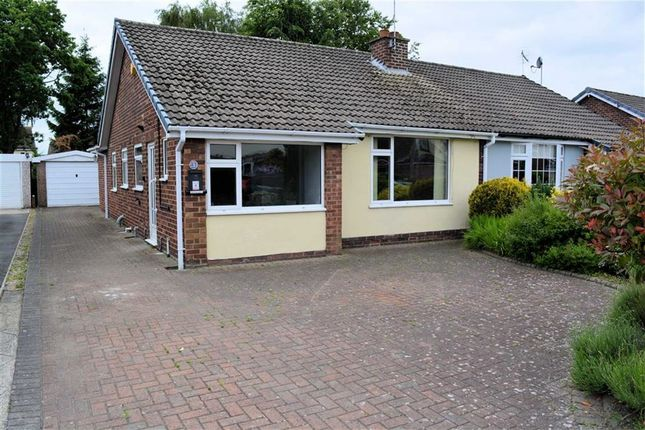 Thumbnail Semi-detached bungalow to rent in The Ruddings, Selby