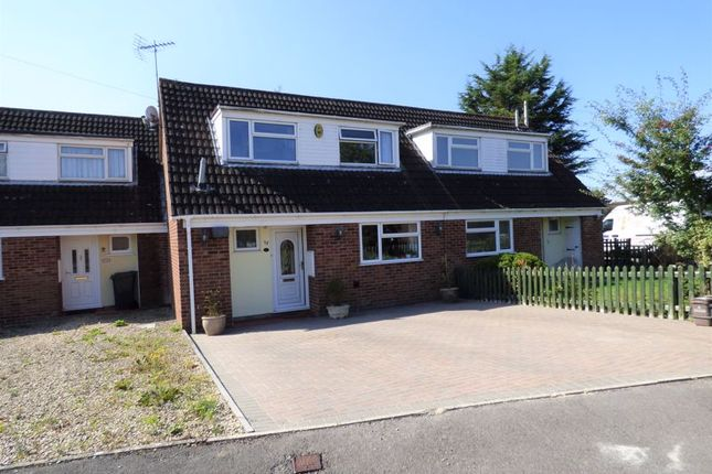 Thumbnail Terraced house for sale in Fieldcourt Gardens, Quedgeley, Gloucester