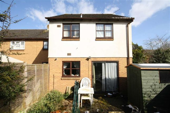 Thumbnail End terrace house for sale in Warwick Close, Chippenham, Wiltshire