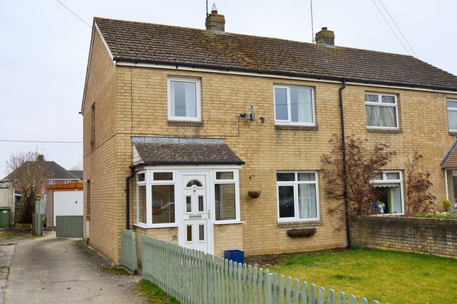 3 bed semi-detached house for sale in Gassons Road, Lechlade, Gloucestershire