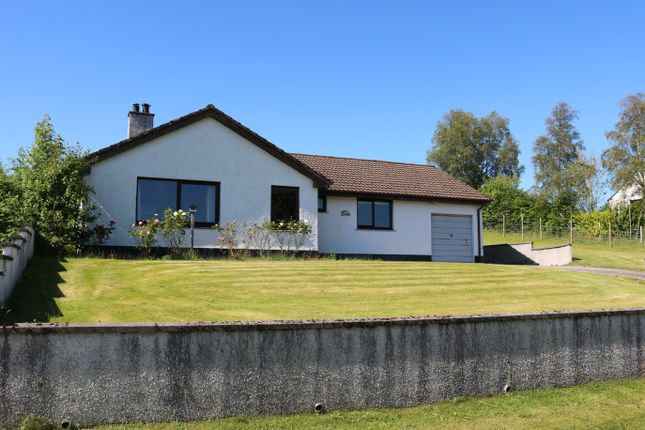 Thumbnail Detached bungalow for sale in Croft Road, Lochcarron