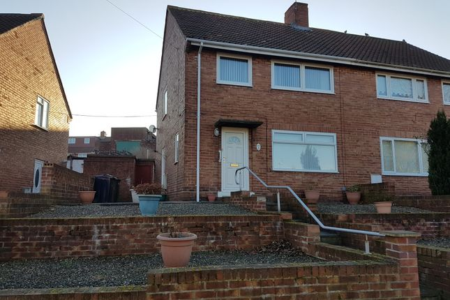 Thumbnail Semi-detached house to rent in Cotswold Gardens, Lobley Hill, Gateshead