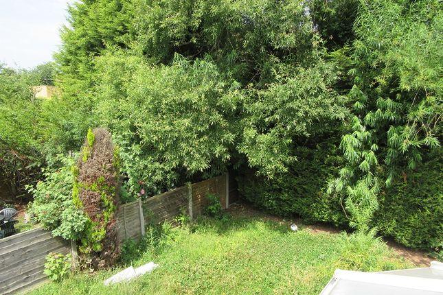 Rear Garden of Montcliffe Crescent, Whalley Range, Manchester. M16
