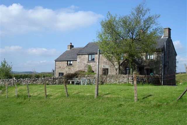 Thumbnail Farmhouse for sale in Upperhulme, Near Leek, Staffordshire