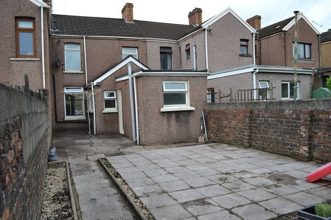 Outside of Tanygroes Street, Port Talbot, Neath Port Talbot. SA13
