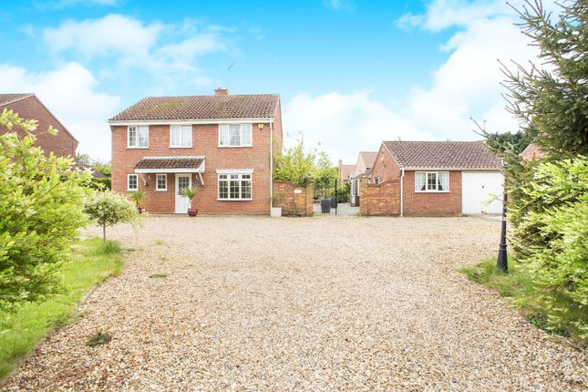 Thumbnail Detached house for sale in High Road, Saddlebow, King's Lynn