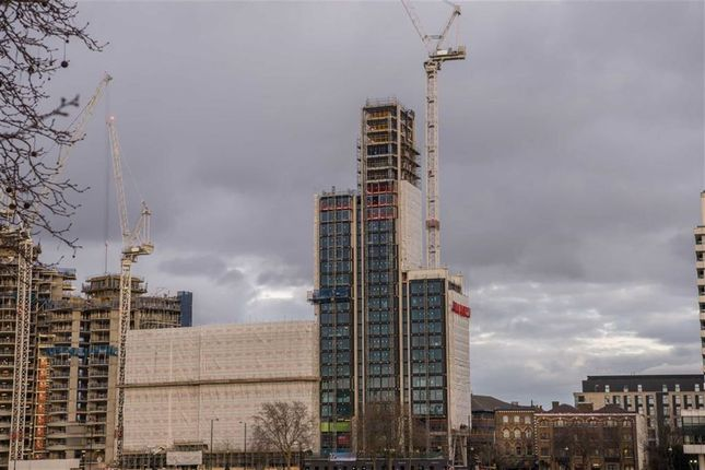 Thumbnail Flat for sale in Merano Residences, Albert Embankment, London