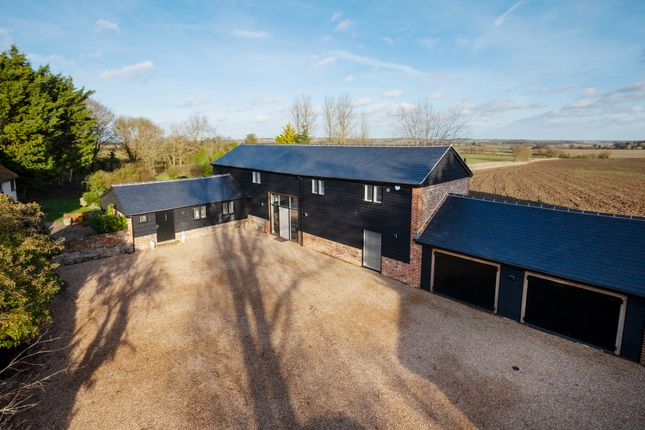Thumbnail Barn conversion for sale in Brockley Green, Hundon, Sudbury