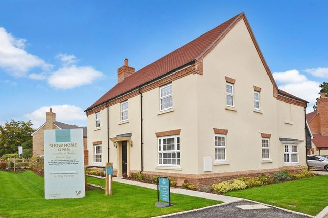 Thumbnail Detached house for sale in Creslow Way, Stone, Aylesbury