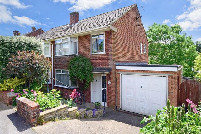 Thumbnail Semi-detached house for sale in Delaware Road, Lewes, East Sussex