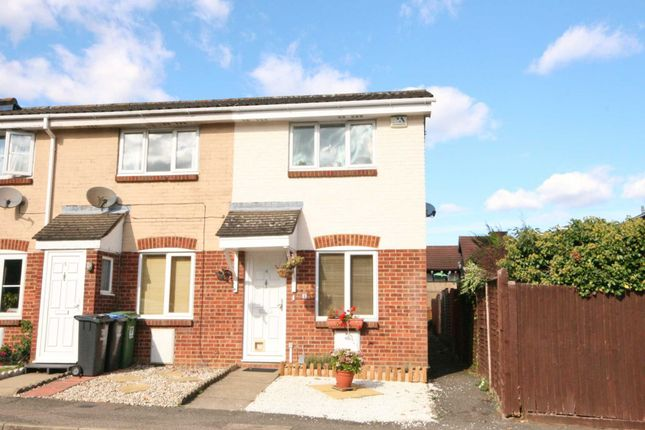 Thumbnail End terrace house for sale in Hales Park Close, Hemel Hempstead