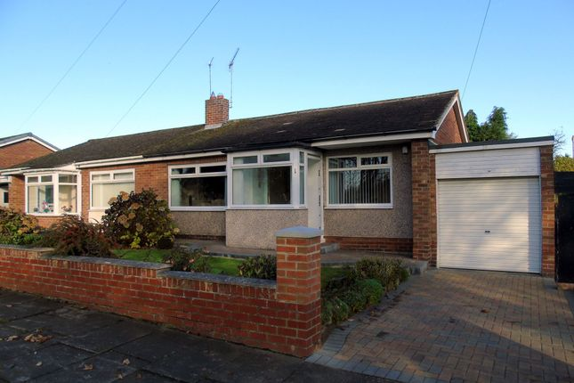 Thumbnail Bungalow for sale in St. Aidans Crescent, Morpeth