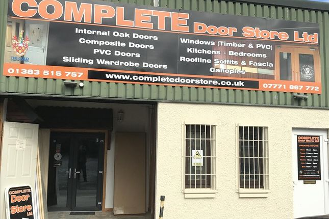 Thumbnail Light industrial for sale in Woodend Industrial Estate, Cowdenbeath