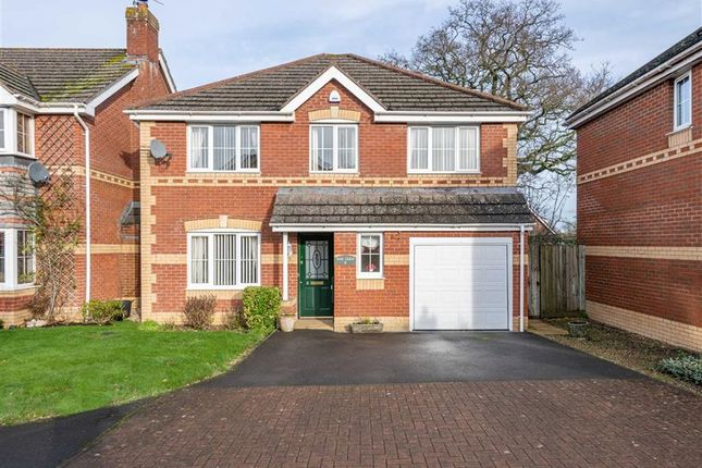 Thumbnail Detached house for sale in Ethley Drive, Raglan, Monmouthshire