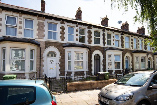 Thumbnail Terraced house to rent in Rawden Place, Riverside, Cardiff