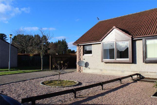 Thumbnail Semi-detached bungalow to rent in David Mclean Drive, Alford