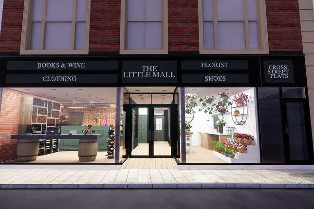 Retail premises to let in Cross Street, Oswestry