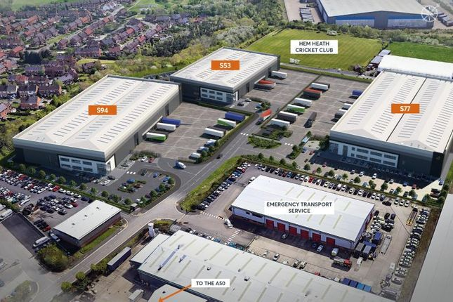 Thumbnail Industrial to let in S94, St Modwen Park Stoke South, Stoke-On-Trent
