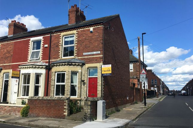 Thumbnail Terraced house for sale in Knavesmire Crescent, York