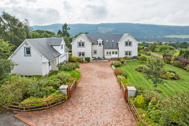 Thumbnail Detached house for sale in Croftinloan, Pitlochry