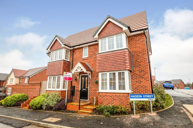 Thumbnail Detached house for sale in Hadzon Street, Redditch