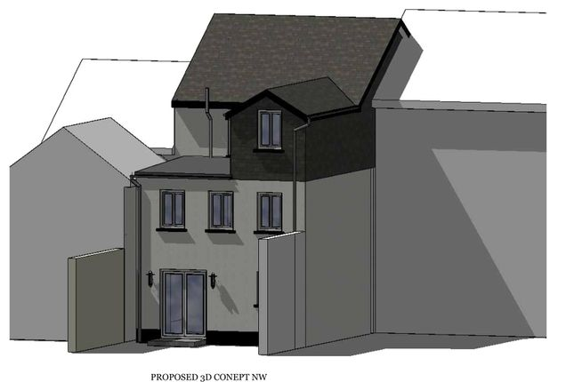 Proposed Nw Elev of Refurbishment Opportunity, Exeter, Devon EX4