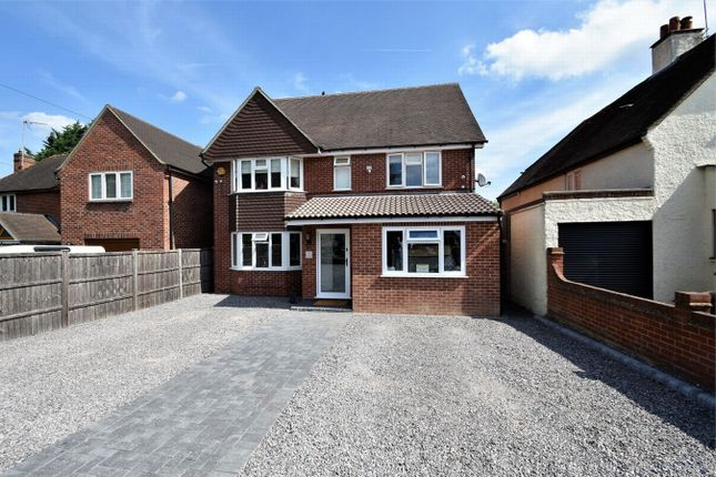 Thumbnail Detached house for sale in Guildford Road, Lightwater, Surrey