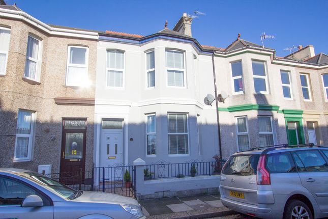 Thumbnail Terraced house for sale in Cotehele Avenue, Prince Rock, Plymouth