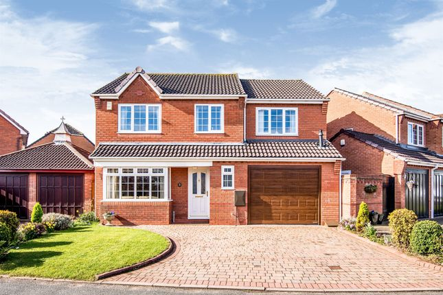 Thumbnail Detached house for sale in Manor Rise, Lichfield