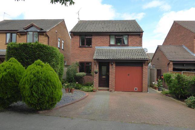 Thumbnail Detached house for sale in Oak Close, Uppingham, Oakham