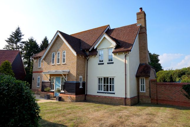 Thumbnail Detached house for sale in Swan Meadow, Stratford St. Mary, Colchester