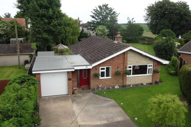 Thumbnail Detached bungalow for sale in Church Lane, North Kyme, Lincoln