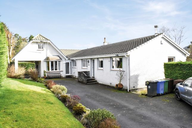 Thumbnail Detached bungalow for sale in Bankers Brae, Balfron, Stirlingshire