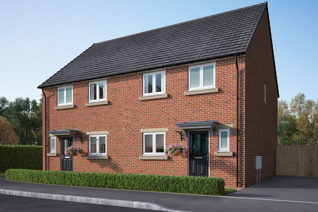 """Thumbnail Semi-detached house for sale in """"The Eveleigh"""" at Ripon Road, Killinghall, Harrogate"""
