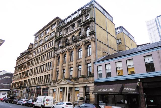 Thumbnail Flat to rent in 38A Bath Street, Glasgow, 1Hg