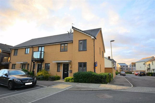 Thumbnail Semi-detached house for sale in Hunters Way, Hardwicke, Gloucester