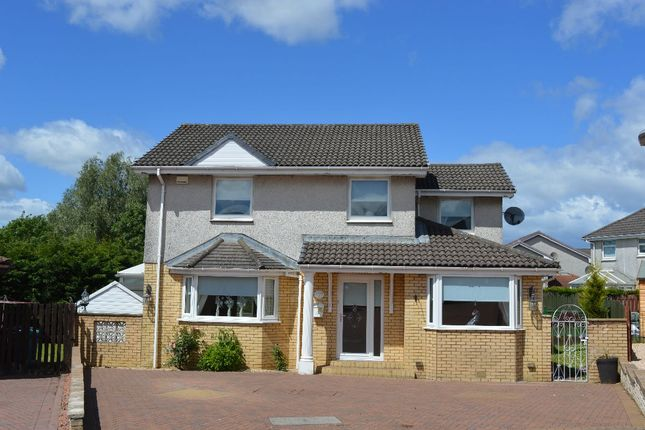 Thumbnail Detached house for sale in Doune Crescent, Chapelhall, Airdrie