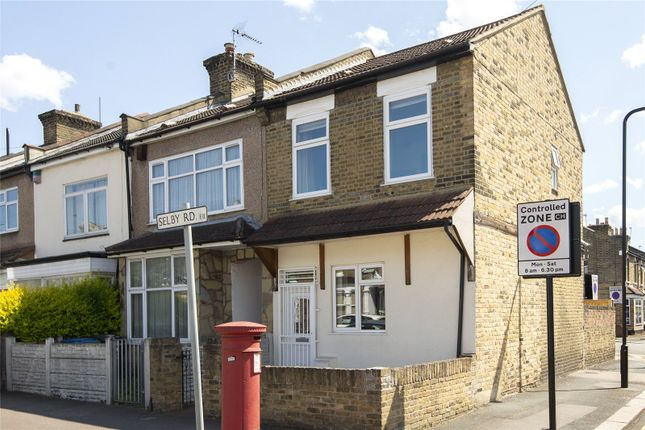 Thumbnail End terrace house for sale in Selby Road, London