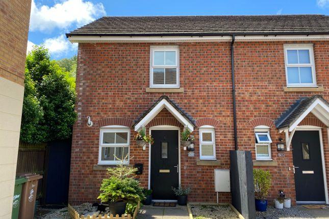 Thumbnail Town house for sale in Heron Drive, Cwm Calon, Ystrad Mynach, Hengoed
